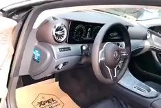 奔驰CLS350准备施工XPEL宙斯专车专