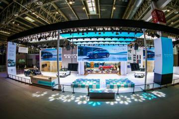 2020北京车展北京车展5+X智能电动SUV天际ME7亮相