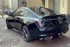 凯迪拉克CT5美系豪华轿车动态展示,外观设计非常大气!