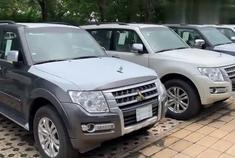 天津港平行进口车银色比白色优惠5万3.8V6的帕杰罗V97值得入手!