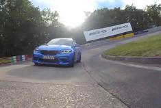 宝马M2 CS SportAuto媒体测试纽北圈速出炉,7:42.99 车手:Chr