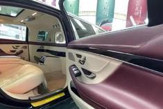 5米9的奔驰S450见过吗? 这空间太宽敞了