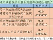 天津新增3家医院具备独立新冠病毒核酸检测能力