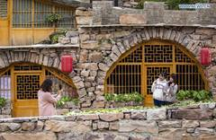 Traditional villages with local characteristics built to develop rural tourism in Hebei