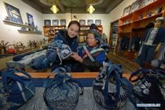 Batik workshop, gallery create job opportunities for local residents in Guizhou