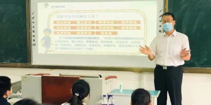 """海南举行""""国家安全教育进校园""""活动"""