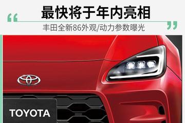 车圈今日刷屏(0615) : 最快将于年内亮相 丰田全新86外观/动力参数曝光