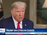 特朗普改口:不认为必须要派军队进入城市