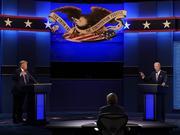 一场混战:美国大选两党总统候选人首场辩论结束