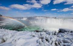 In pics: ice and snow covered Niagara Falls