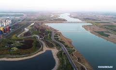 Water quality and ecosystem of Hutuo River improved