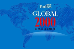 福布斯發布2021全球企業2000強