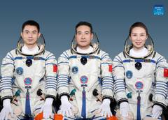China unveils Shenzhou-13 crew for six-month space station mission