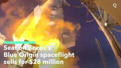 Blue Origin auctions ride to space with Jeff Bezos for $28 million