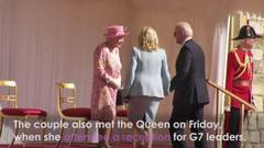 Bidens have tea with Queen Elizabeth after G7 summit