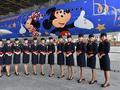 东航迪士尼主题喷涂飞机亮相
