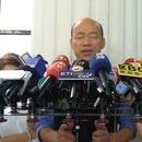 韩国瑜为回应名嘴指控 在台媒面前念1分钟佛经