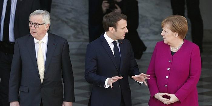 欧盟主席竞争白热化 马克龙默克尔分歧加剧