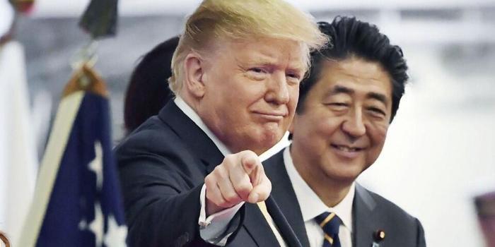 """安倍与特朗普确认网络攻击适用""""美日安保条约"""""""