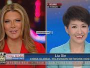 """中美女主播""""跨海对话""""结束 刘欣欢迎崔西来中国看看"""
