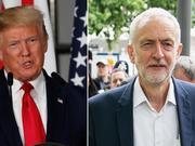 川普拒见英工党领袖:他是一股消极力量,我不想见
