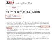 瑞银就首席经济学家用语问题致歉:引发误会深表歉意