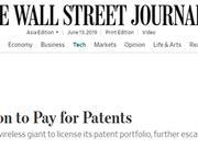 外媒:华为要求美电信巨头支付超10亿美元专利费