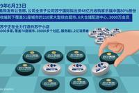 """苏宁""""抄底""""家乐福中国 互联网公司""""集齐""""大超市"""