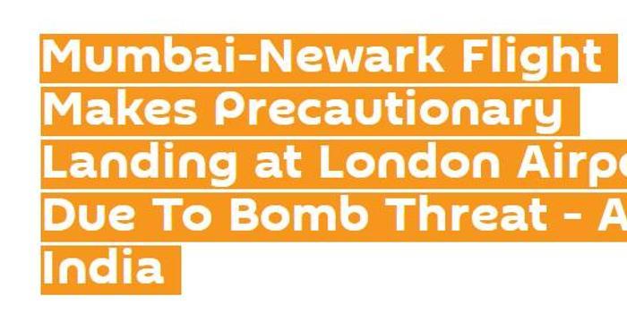 """因炸彈威脅 印度航空一飛機在倫敦""""預防性降落"""""""