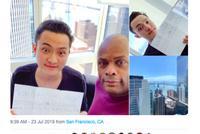 孙宇晨Twitter直播证明自己在旧金山 疑似回应边控