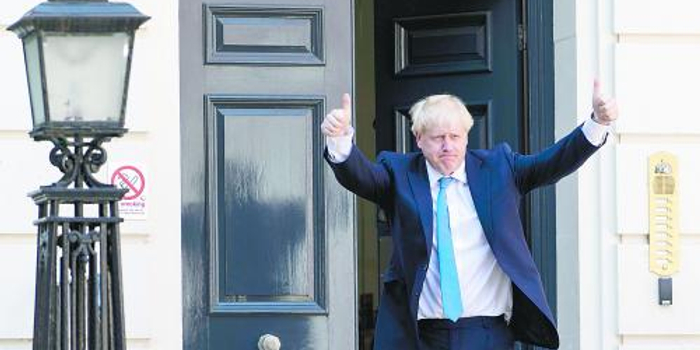 约翰逊高票当选英首相 如何打破脱欧僵局成焦点