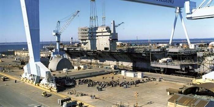 """美媒:造船工业萎缩已成美海军最大的""""缺陷"""""""
