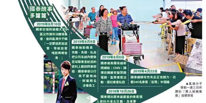 死不悔改!香港國泰機組人員竟慫恿罷飛內地航線
