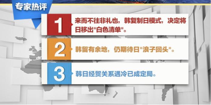 """蘇曉暉:韓國欲將日本移出""""白色清單"""" 但留有余地"""