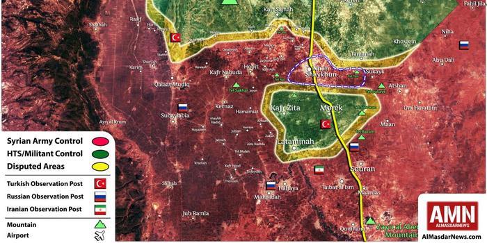 敘利亞政府軍會師伊德利卜重鎮 徹底包圍叛軍
