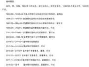 温州银行行长吴华被查 该行去年营收净利均为负增长