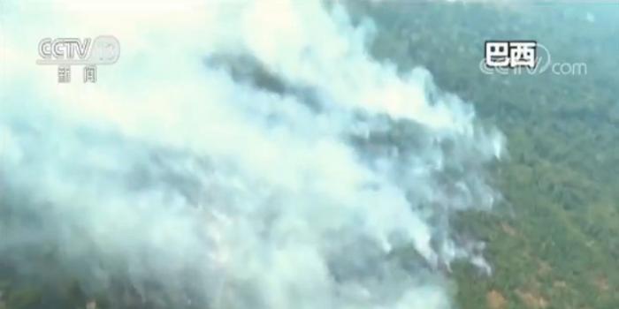 亚马逊大火浓烟超百米 六个州请求军方协助灭火