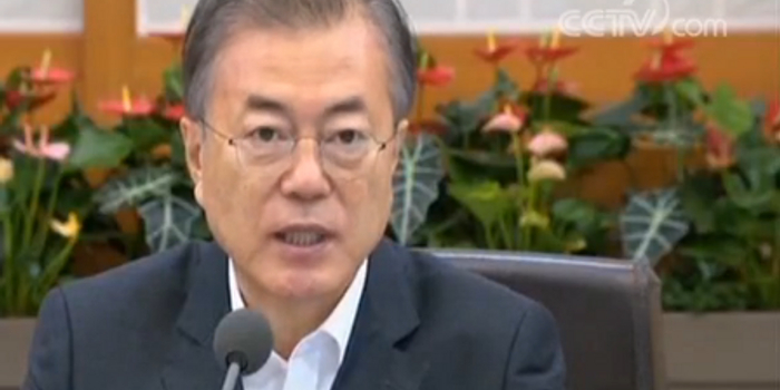 韩国总统文在寅:日试图将经济报复正当化