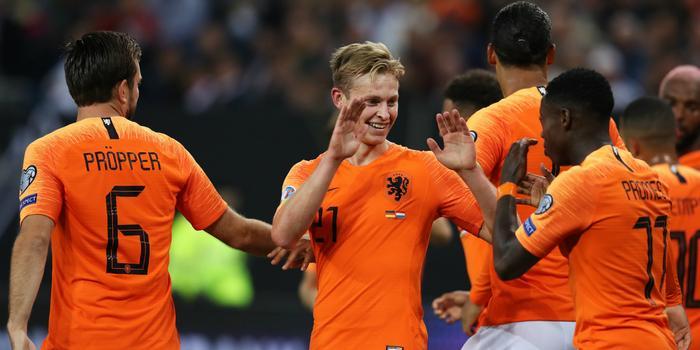 科曼盛赞荷兰全队有韧性:获得胜利当之无愧