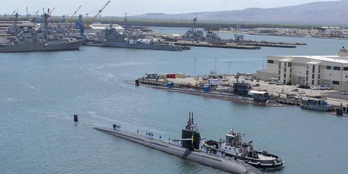 美軍奧林匹亞號核潛艇完成環球部署后返港 即將退役