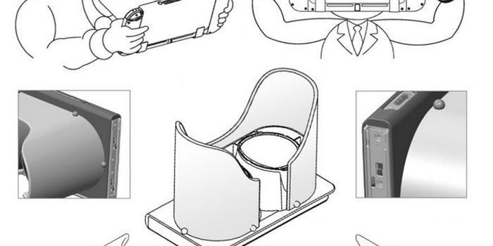任天堂正在开发全新Switch VR 目前设计专利已公布