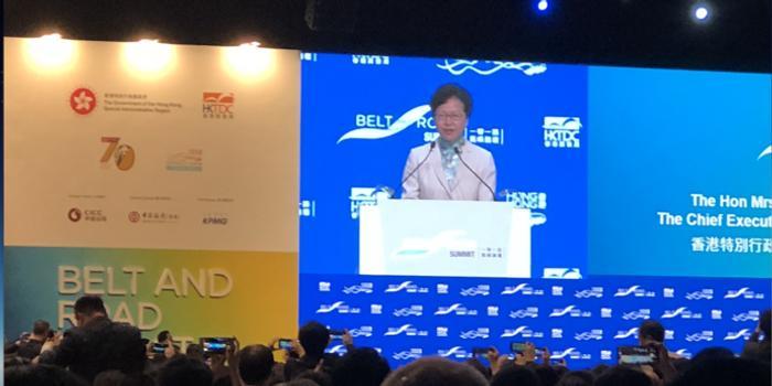林郑月娥:香港的韧劲会使这座城市走出困境
