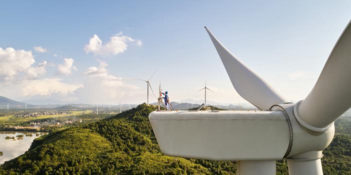 苹果公司在中国投资的3座风电场正式投入运营