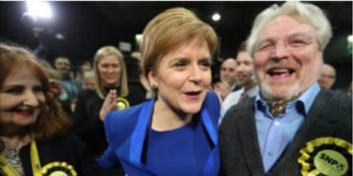 独立公投还要来?苏格兰民族党英国大选成绩不俗
