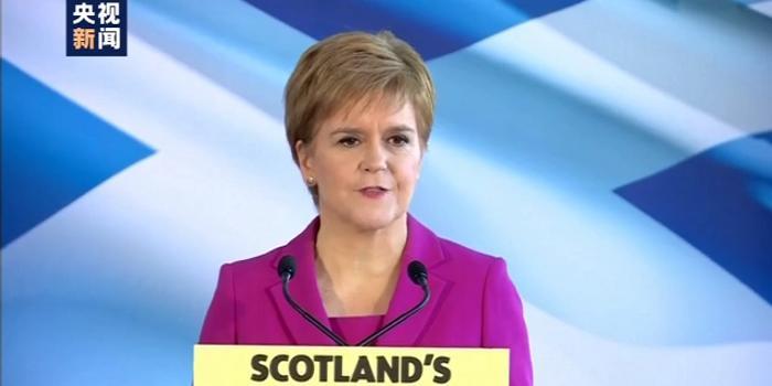 苏格兰将推动独立公投:是决定自己未来的时候了