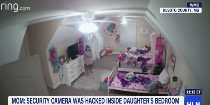 黑客攻破美一女孩房間安全攝像頭并稱自己是圣誕老人