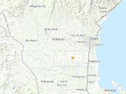 菲律宾棉兰老岛附近发生6.9级地震