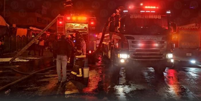 墨西哥一市場發生大火 致1人死亡8人受傷
