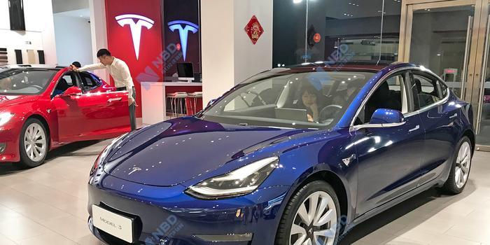 國產特斯拉Model 3將免征車輛購置稅