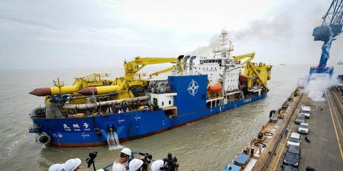 长江入海口,正崛起一座世界级船
